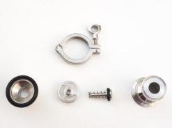 Clapet anti retour sanitaire clamp DN25 / 50.5