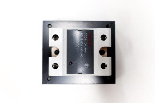 dissipateur de chaleur monophasé avec SSR