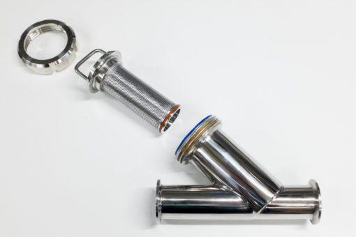 """Filtre à tamis clamp 1-1/2""""/50.5 composants"""