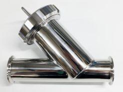 """Filtre à tamis clamp 2""""/64"""