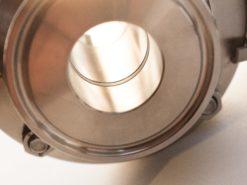 vanne clamp à boisseau sphérique 50.5 / 1