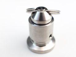 soupape de pression micro-clamp avec anneau