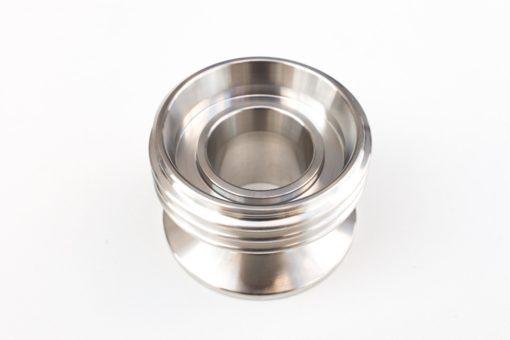 DIN 25M - clamp 50.5 inox